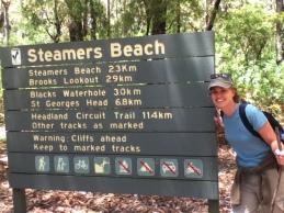 Steamers Beach walk