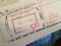 Canada permit